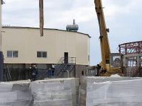 Строительство канализационных очистных сооружений, 4 мая 2020