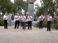 Духовой оркестр в сакских дворах, 12 июня 2020