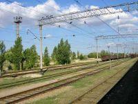Ремонт железной дороги Саки - 29км