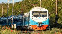 Электропоезд Севастополь - Евпатория, 23 июня 2020