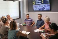 Встреча в администрации города Саки
