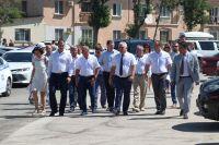Саки посетил председатель Госсвета Крыма