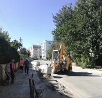 Ход строительных работ в Саках