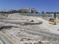 Ход строительства набережной солёнки, 17 августа 2020