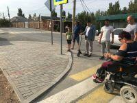 Доступность улицы Дегтярёва для колясочников