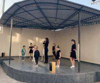 Танцевальный мастер-класс в сакском музее