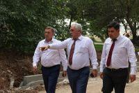 Визит премьер-министра Крыма в Саки