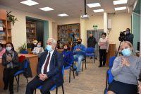 Сакская библиотека открылась