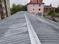 Отремонтирована крыша манежа