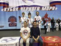 Сакские спортсмены на Кубке Чёрного моря