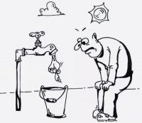 В Евпатории отключают горячую воду