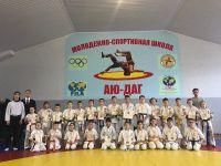 Сакскская спортшкола на первенство Кировского района