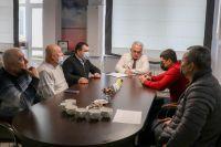 Встреча в сакской городской администрации