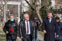 Саки посетил депутат ГосДумы