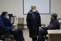 Саки посетила депутат Госдумы Светлана Савченко, 5 марта 2021