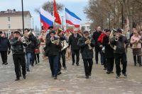 Парад школьных юнармейских отрядов