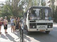Маршрут автобуса №7 временно укоречен