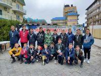Сакчане на турнире по футболу в Анапе