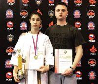 Сакчане выступили на турнире по каратэ в Москве