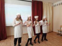В Сакской гимназии прошёл конкурс профессий, 2 апреля 2021