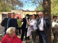 Саки посетила Министр образования, 13 мая 2021