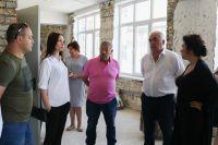 Саки посетила Министр культуры РК
