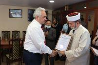 Саки посетил Муфтий мусульман Крыма