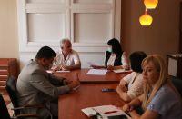 Саки посетила министр образования Крыма, 18 июля 2021