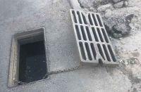 В Саках с одной улицы украли 27 водоприемных решеток