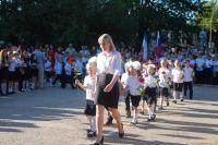В сакских школах начался новый учебный год