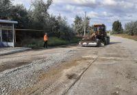 Грейдирование дорог на северо-востоке Сак