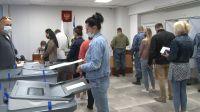 В Саках начались выборы