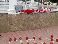 Акция памяти жертв в Перми