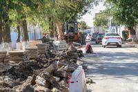 Начат ремонт улицы имени 9-ти Героев