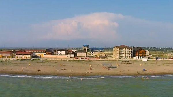 Пляж в с. Прибрежное