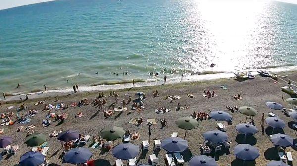 Пляж в пгт. Новофедоровка