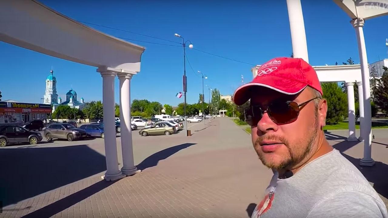 Прогулка по центру курорта Саки - привью к видео b3vF9YjSpUw