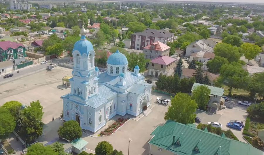 Свято-Ильинский храм в Саках - привью к видео srGa7Lh6GkQ